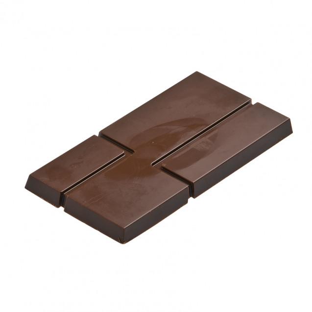 """Форма для конфет """"Плитка"""" 154х74 мм, h-10 мм (3 шт)"""